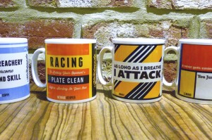 The Hand Made Cyclist Mug Set